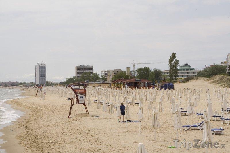 Fotka, Foto Burgas, pláž u města (Centrální část pobřeží, Bulharsko)