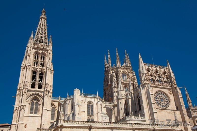 Fotka, Foto Burgos, katedrála (Španělsko)