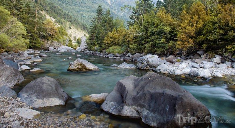 Fotka, Foto Bystřina v Národním parku Ordesa y Monte Perdido (Španělsko)