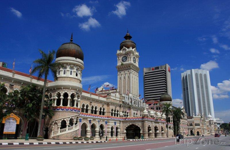Fotka, Foto Centrum hlavního města Kuala Lumpur (Malajsie)