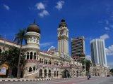Centrum hlavního města Kuala Lumpur