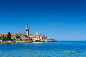 Chorvatský přístav Poreč