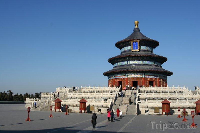 Fotka, Foto Chrám nebes v Pekingu (Čína)