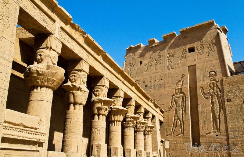 Fotka, Foto Chrám Philae u Asuánu (Egypt)