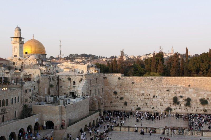 Fotka, Foto Chrámová hora v Jeruzalému (Izrael)