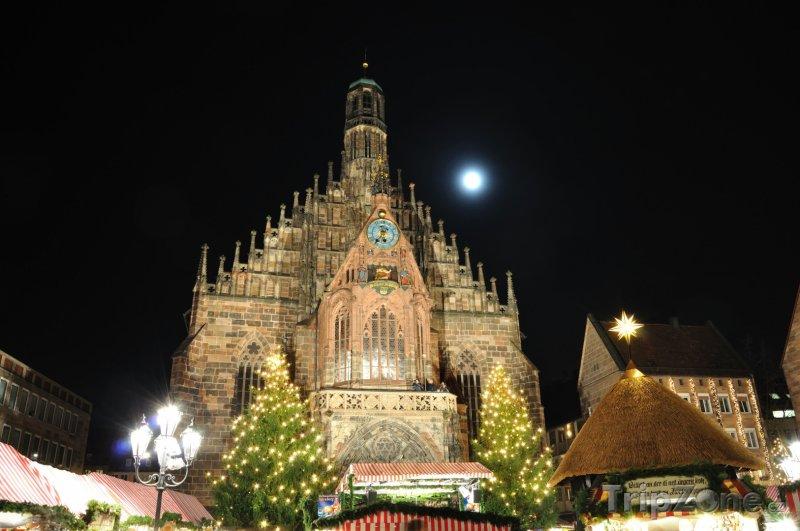 Fotka, Foto Christkindlesmarkt v Norimberku (Norimberk, Německo)