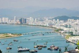Čínský přístav Sanya