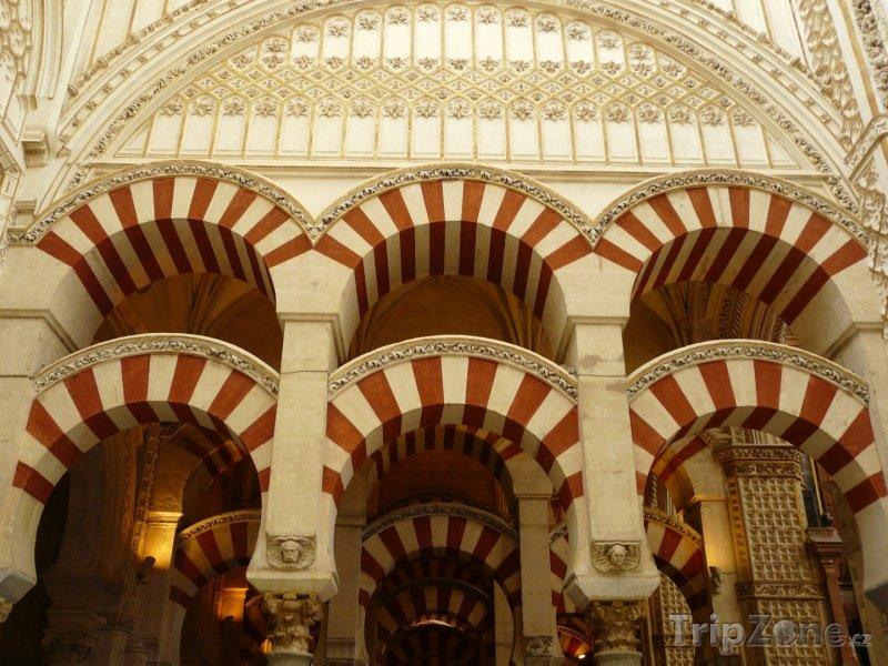 Fotka, Foto Córdoba, vnitřek mešity-katedrály (Španělsko)