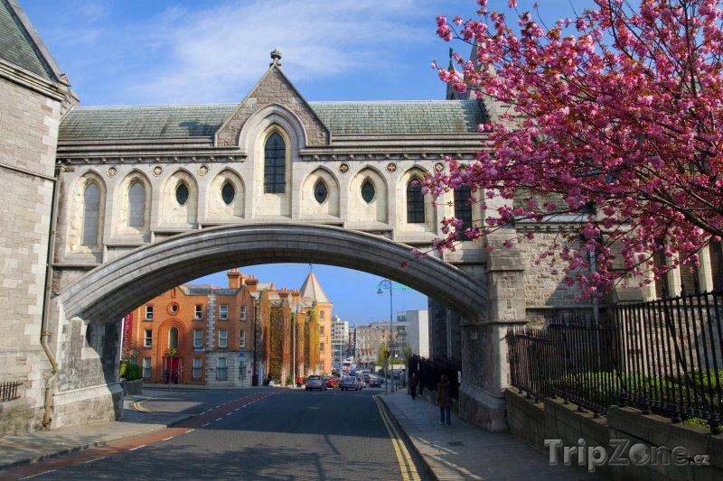 Fotka, Foto Dublin, část katedrály Nejsvětější Trojice (Dublin, Irsko)