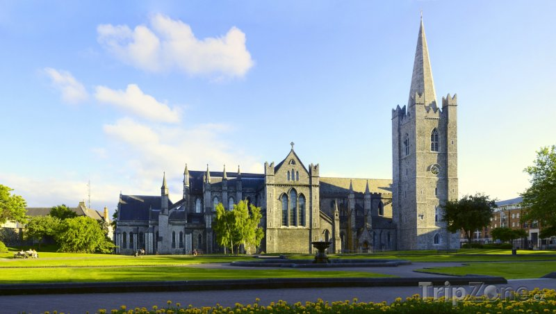 Fotka, Foto Dublin, katedrála sv. Patrika (Dublin, Irsko)