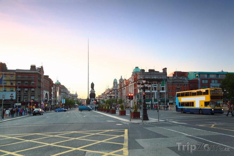 Fotka, Foto Dublin, Monument of Light (také známý jako Spire of Dublin) (Dublin, Irsko)