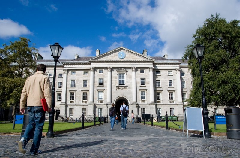 Fotka, Foto Dublin, Trinity College (Dublin, Irsko)