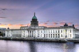 Dublin, vládní budova Custom House