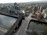 Dublin z ptačí perspektivy