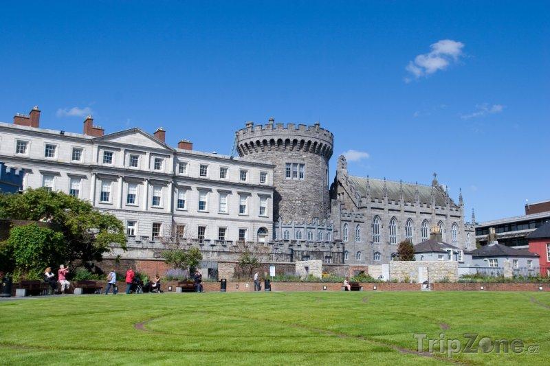 Fotka, Foto Dublinský hrad (Dublin, Irsko)