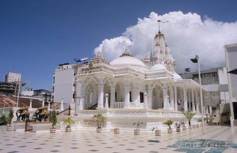 Fotka, Foto Džinistický chrám v Mombase (Keňa)