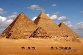 Gíza, pyramidy