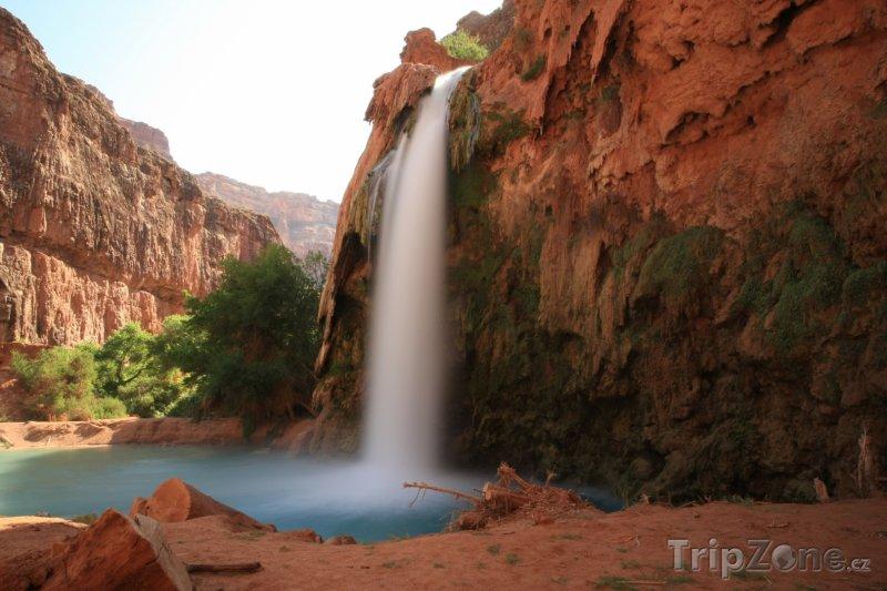 Fotka, Foto Grand Canyon, vodopád (USA)
