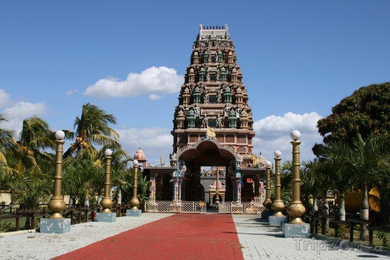 Fotka, Foto Hinduistický chrám (Mauricius)