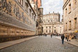 Historické centrum Drážďan