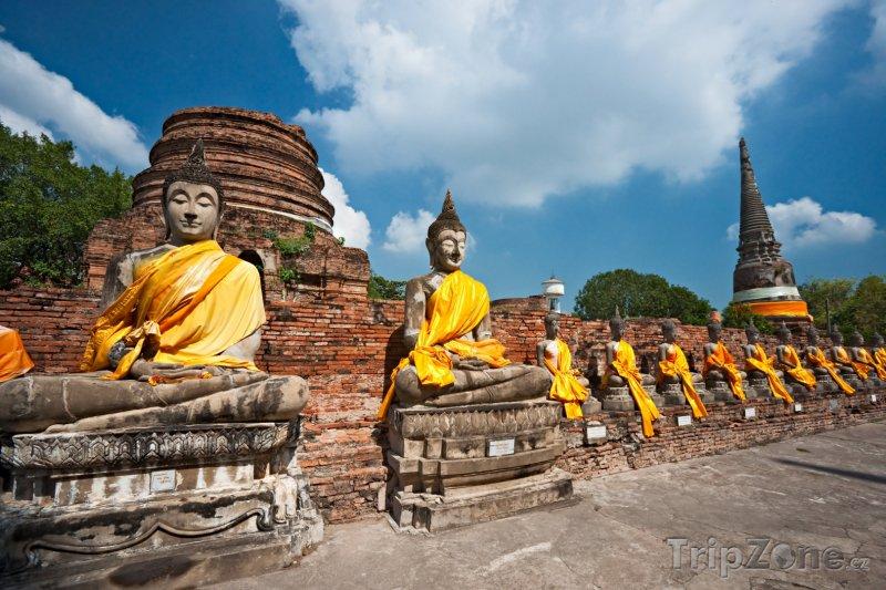 Fotka, Foto Historické město Ayutthaya (Thajsko)