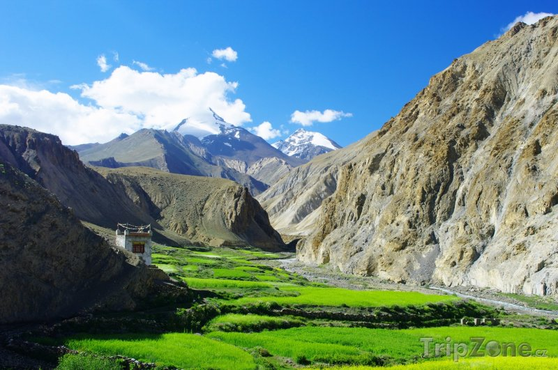 Fotka, Foto Hory v oblasti Ladak v indickém státě Džammú (Indie)