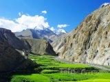 Hory v oblasti Ladak v indickém státě Džammú