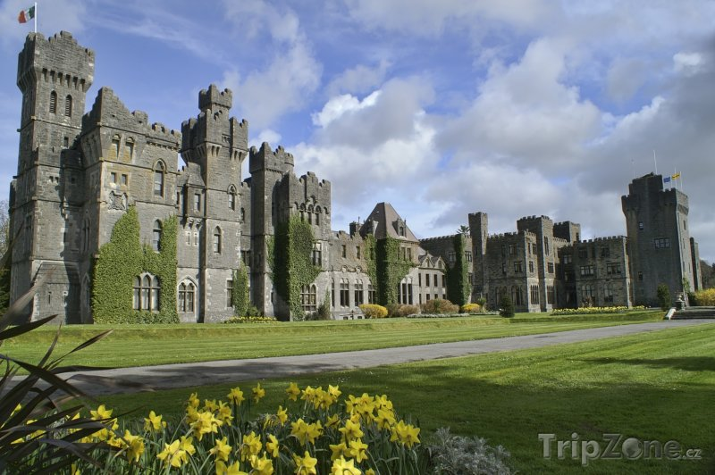 Fotka, Foto Hrad Ashford v hrabství Galway (Irsko)