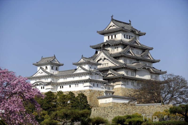 Fotka, Foto Hrad Himedži v regionu Kansai (Japonsko)