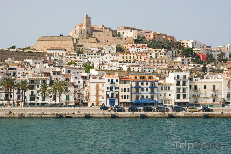 Fotka, Foto Ibiza, pohled na přístav (Ibiza, Španělsko)