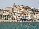 Ibiza, pohled na přístav