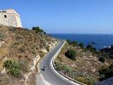 Ibiza, silnice u pobřeží