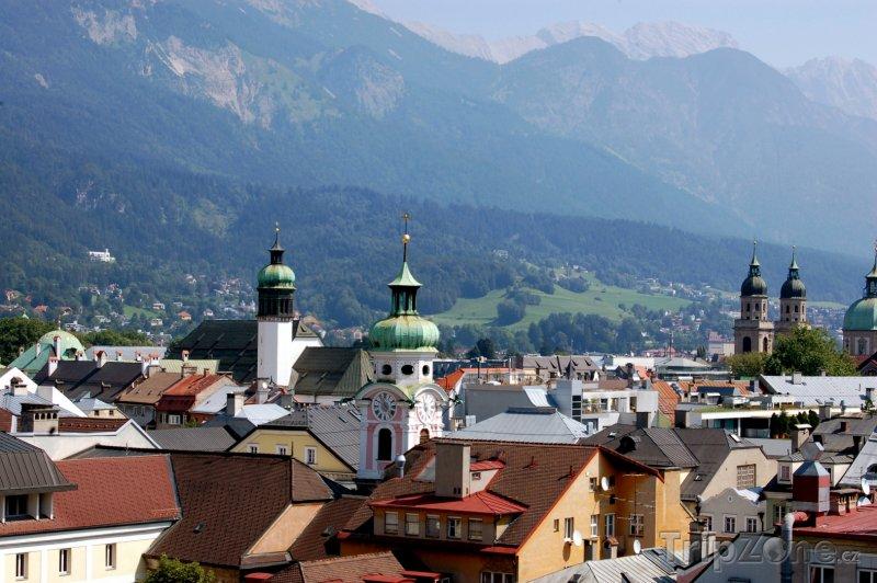 Fotka, Foto Innsbruck, panoráma města (Rakousko)