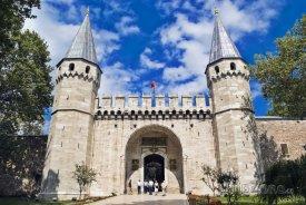 Istanbul, brána paláce Topkapi