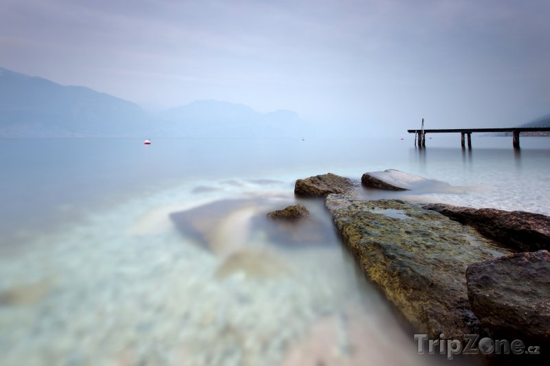 Fotka, Foto Italské jezero Lago di Garda (Itálie)
