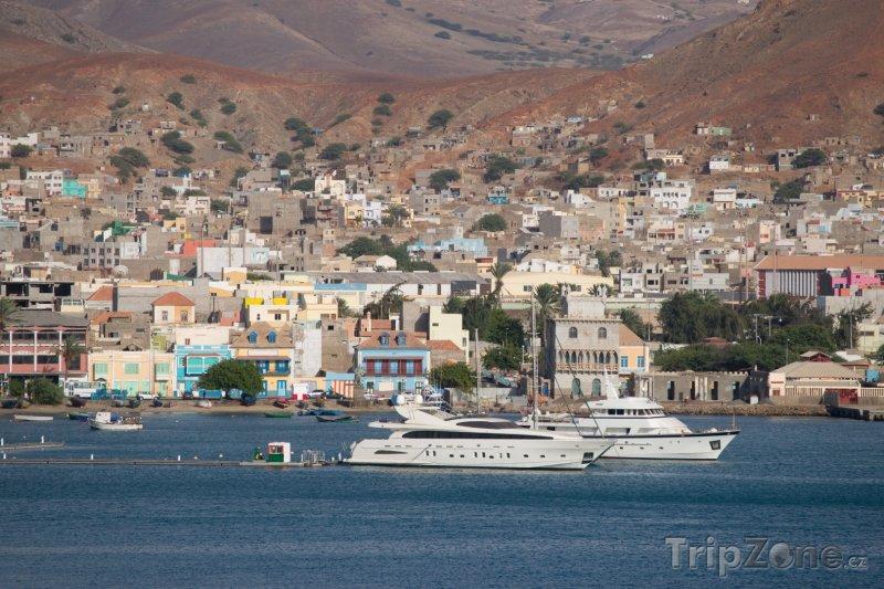 Fotka, Foto Jachty v přístavu Porto Grande (Kapverdy)