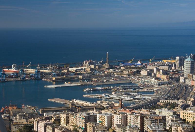 Fotka, Foto Janov - pohled na přístav (Itálie)