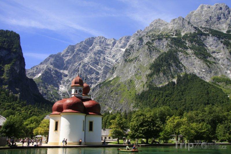 Fotka, Foto Jezero Königssee (Bavorsko, Německo)