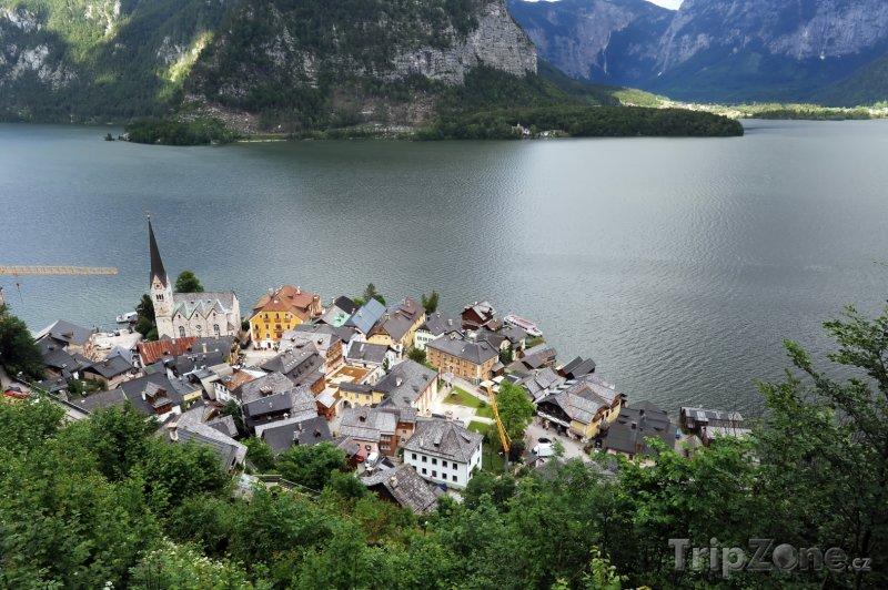 Fotka, Foto Jezero u vesnice Hallstatt (Rakousko)
