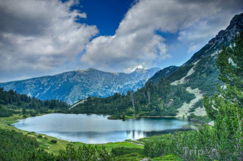 Fotka, Foto Jezero v Národním parku Pirin (Bulharsko)