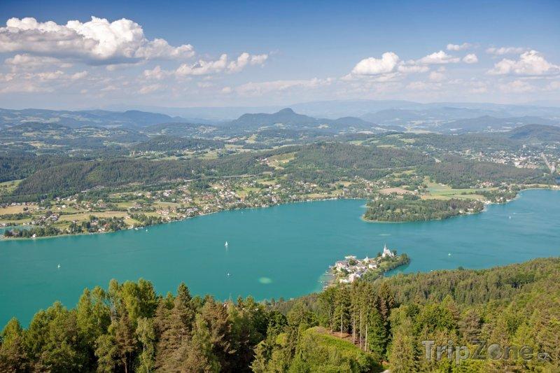 Fotka, Foto Jezero Wörthersee (Rakousko)