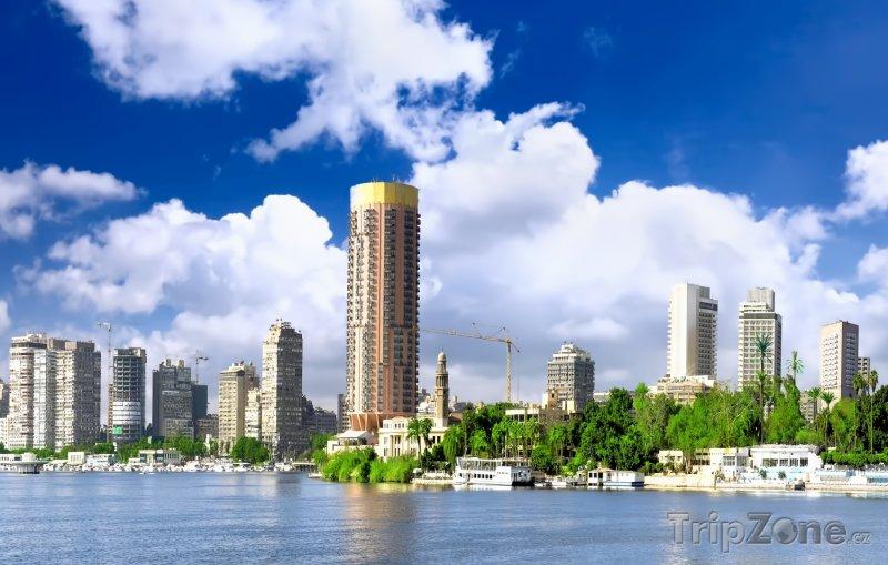 Fotka, Foto Káhira, výškové budovy (Egypt)