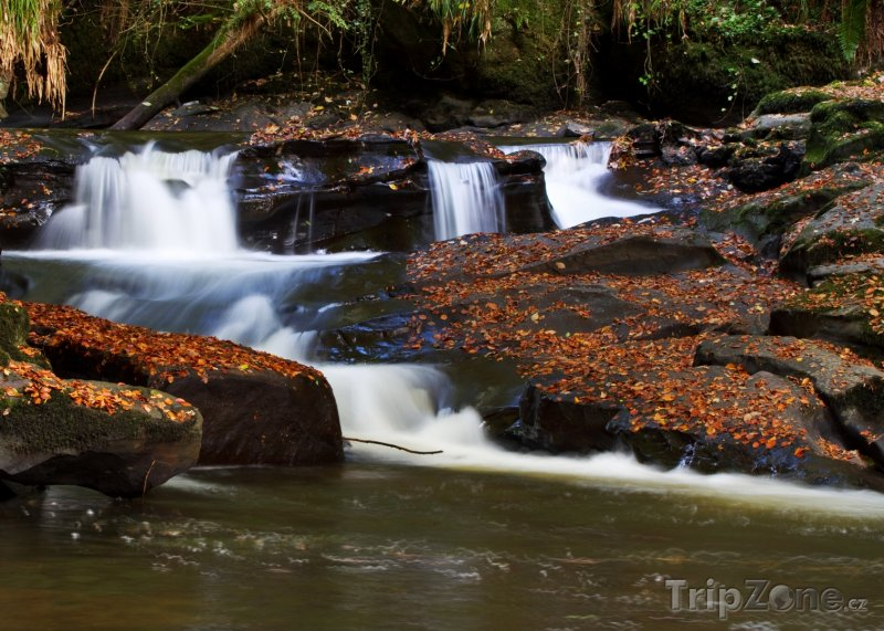 Fotka, Foto Kaskády na řece Clare (Irsko)