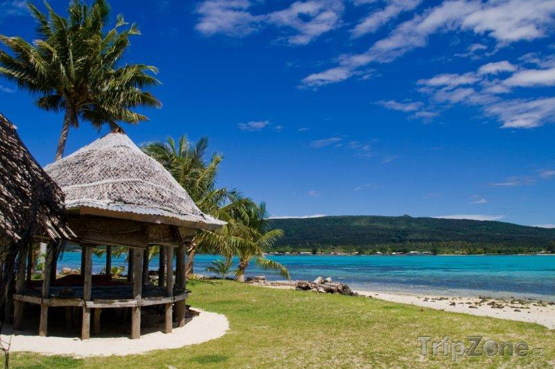 Fotka, Foto Klidná pláž na ostrově Upolu (Samoa)