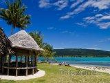 Klidná pláž na ostrově Upolu