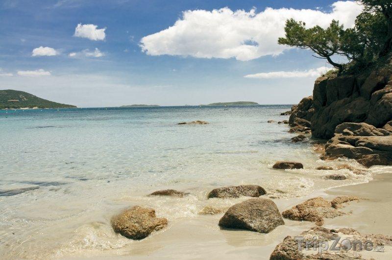 Fotka, Foto Korsika - pláž Palombaggia (Francie)