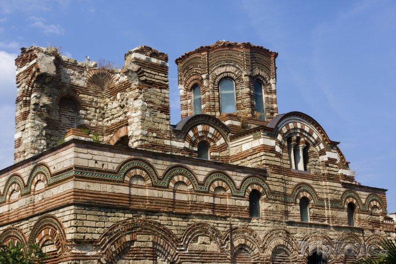 Fotka, Foto Kostel Krista Pantokrata v Nesebar (Centrální část pobřeží, Bulharsko)