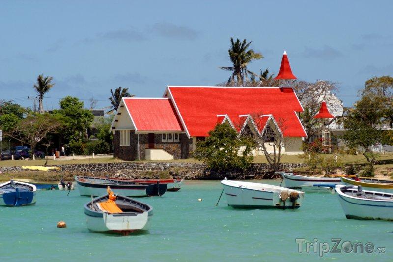 Fotka, Foto Kostel v Cape Malhereux (Mauricius)