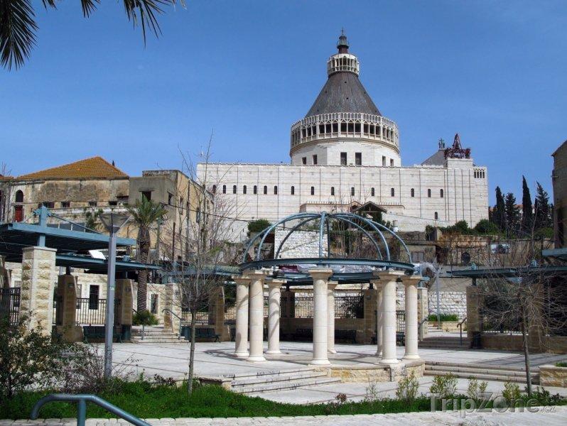 Fotka, Foto Kostel Zvěstování v Nazaretu (Izrael)