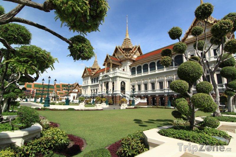 Fotka, Foto Královský palác v Bangkoku (Thajsko)